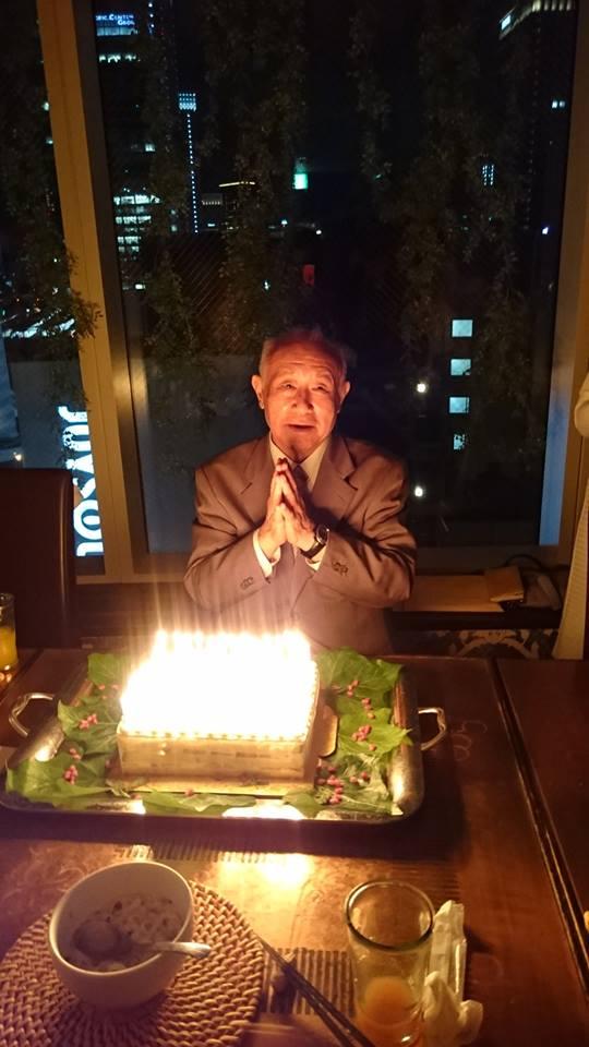 思風先生75才お祝い例会&食事会