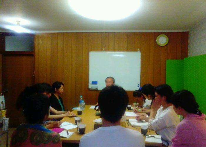 2016年8月25日愛の子育て塾8期第2講座開催しました。
