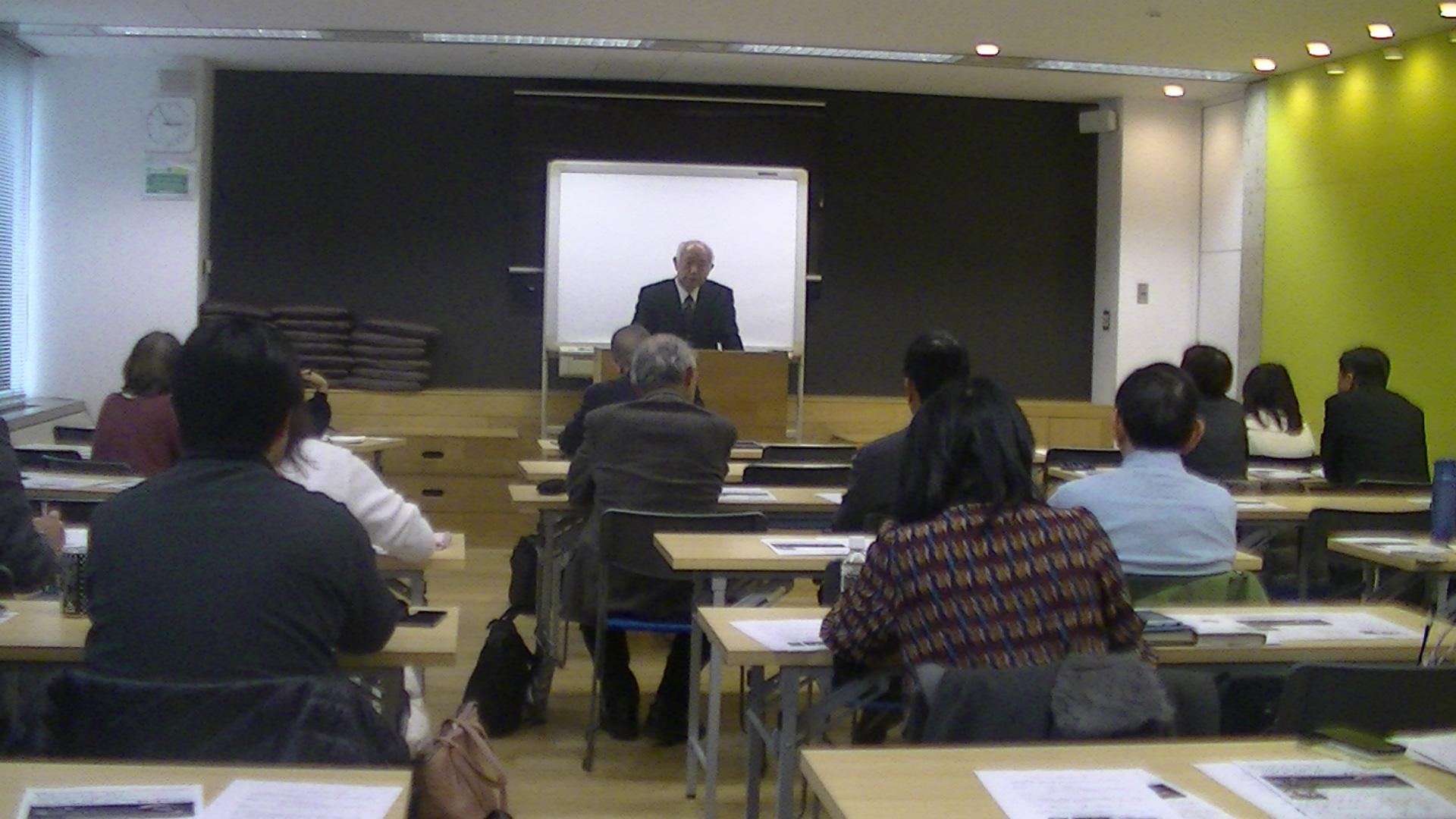 PIC 0088 - 平成30年度 東京思風塾 4月7日(土)「時代が問題をつくり、問題が人物をつくる」