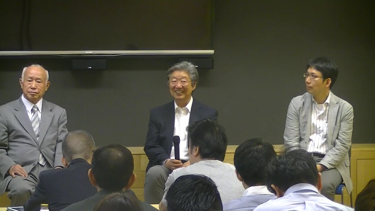 2017年6月3日開催 東京思風塾 テーマ「人間主義経済の到来~社会性と事業性との異次元マッチング経営の実例」