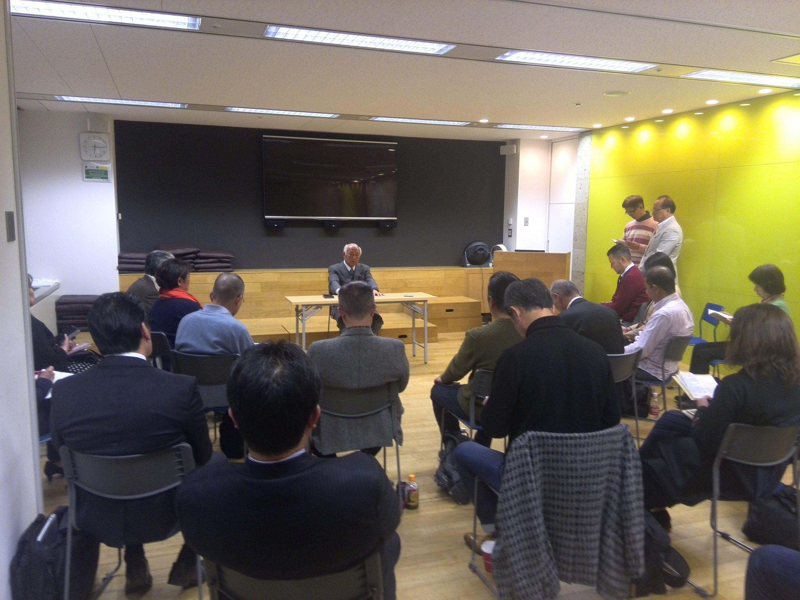 IMG 20110109 143220 scaled - 2019年12月7日(土)第6回東京思風塾「人生の鉄則からの5つの問いとは」をテーマに開催