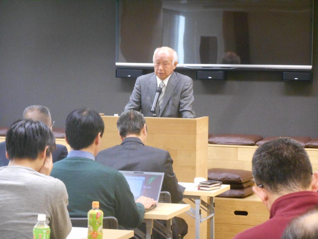2016年12月3日東京思風塾第6回 「時代が求める人物~感性論哲学リーダー論~」