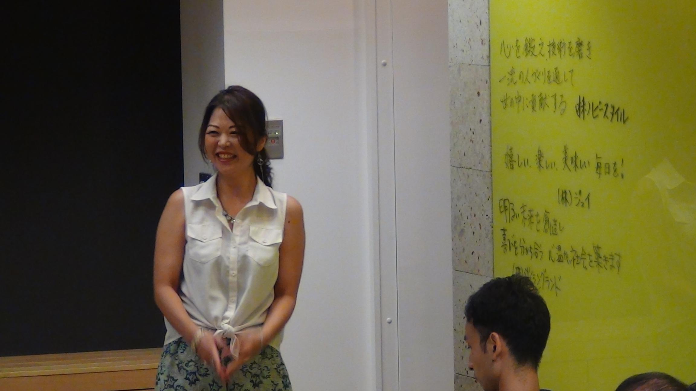 DSC00444 1 - 2017年8月5日東京思風塾「心が燃える理念とは〜自社の理念を問い直す〜」