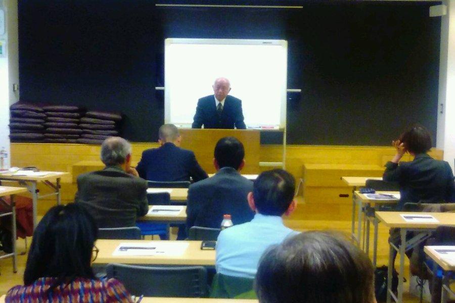 平成30年度 東京思風塾2月3日開催テーマ「世界文明の中心は今、日本の真上にある」