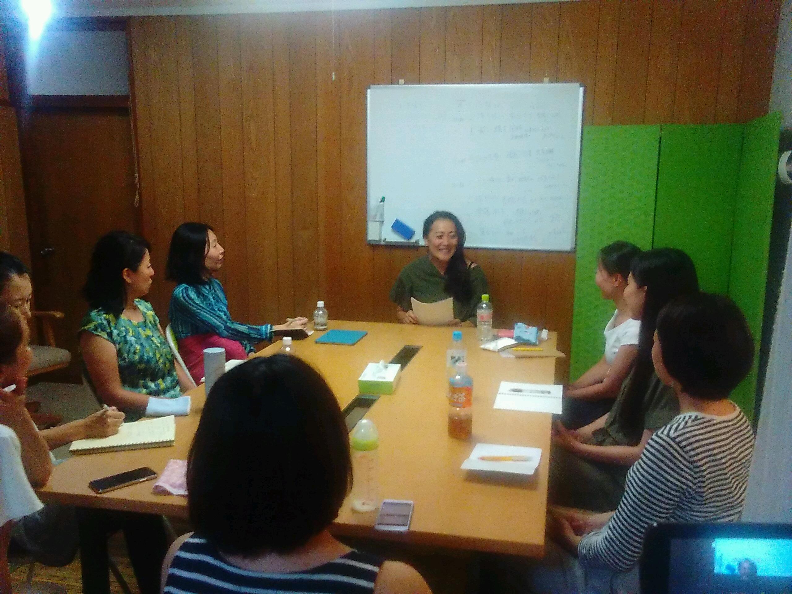 20180823194933 - 2018年8月23日愛の子育て塾第13期第1講座開催しました。