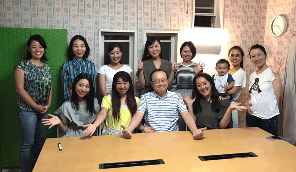 2018年8月23日愛の子育て塾第13期第1講座開催しました。